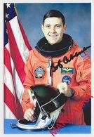 MAKMARKA SPACE RUSSIA 2018.11.19 ''BOB'' KABANA USA STS-1, -53, -65, -88 AUTOGRAPH 1 FOTO (10Х15) - Autógrafos