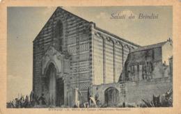 R089755 Saluti Da Brindisi. S. Maria Del Cesale. Monumento Nazionale. Lisco Simeone. Bill Hopkins Collection. V. Censure - Cartes Postales