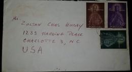 O) 1958 PORTUGAL, ST ISABEL - ST PORTONIO -SCT 835 5e- SCT 833 2e-SCT 834 2.50e, TO US - Covers & Documents