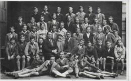 AK 0195  Schulklasse In Klagenfurt - Foto Schöpf Um 1940-50 - Schulen