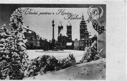 AK 0195  Vánocni Pozdrav  Z  Hradce Králové Um 1946 - Tschechische Republik