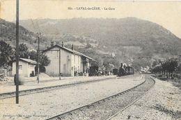 Laval-de-Cère (Lot) - La Gare, Train En Gare - Phototypie Paita, Carte N° 882 - Gares - Avec Trains