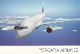 Croatia Airlines A320 Airline Issue Postcard - 1946-....: Era Moderna