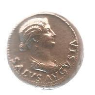 Les Monnaies Romaines,Trésor Du Patrimoine , Reproduction,  SALUS AUGUSTA, Frais Fr 2.55e - Romaines