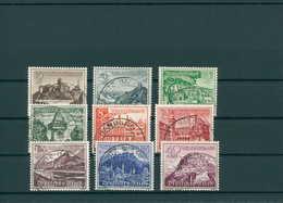 DEUTSCHES REICH 1939 Nr 730-738 Gestempelt (200249) - Deutschland