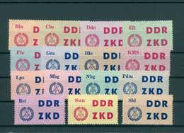 DDR ZKD 1963 Nr C1-15 Gestempelt (200232) - [6] République Démocratique