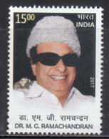 India MNH 2017, M G Rramachandran, Politician, Actor, Cinema, - India
