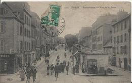 Carte Postale Ancienne De Brest Recouvrance Rue De La Porte - Brest