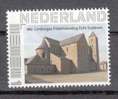 Nederland Persoonlijk Zegel 48e Limburgse Filatelistendag Echt-Susteren Afbeelding Sint-Amelbergabasiliek - Ongebruikt