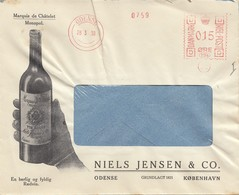 Dänemark: 1938: Odense Mit Werbung Alkohol - Dänemark