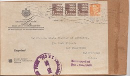Dänemark: 1931: Päckchenausschnitt Kopenhagen Nach USA - Dänemark