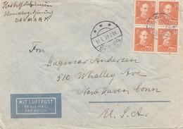 Dänemark: 1946: Brief Nach USA - Danemark