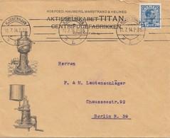 Dänemark: 1914: Brief Von Kopenhagen Nach Berlin - Danemark
