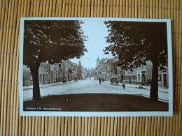 Achern, Hauptstrasse, Gelaufen Mit Bahnpost 1932 - Achern