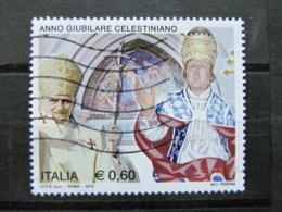 *ITALIA* USATO 2010 - ANNO GIUBILARE CELESTINIANO - SASSONE 3184 - LUSSO/FIOR DI STAMPA - 6. 1946-.. Repubblica