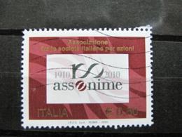 *ITALIA* USATO 2010 - ASSONIME - SASSONE 3177 - LUSSO/FIOR DI STAMPA - 6. 1946-.. Repubblica