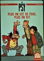 """Bédu - Cauvin - LES PSY - Plus On Est De Fous, Plus On Rit - """" Les Pros Du Rire """" / Dupuis . - Livres, BD, Revues"""