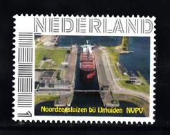 Nederland Persoonlijke Zegel  Noordzeesluizen Bij IJmuiden - Neufs