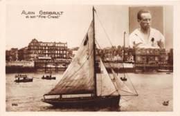 Thèmes - 10282 - Alain Gerbault Et Son Fire Crest - Cartoline