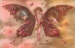Thèmes - 10284 - Fantaisie - Enfant Papillon - Cartoline