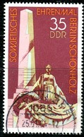 DDR - Mi 2262 - OO Gestempelt (A) - 35Pf     Ehrenmal Berlin-Schönholz - DDR