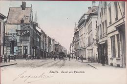 Antwerpen Anvers Le Canal Des Recollets Minderbroedersrui Ingekleurd 1903 (In Zeer Goede Staat) - Antwerpen