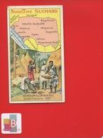 SUCHARD Chromo COLONIES FRANCAISES FRANCE AFRIQUE GUINEE 1830 FABRICATION FARINE FOUTA DJALON KONAKRY - Suchard
