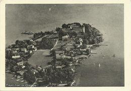 AK Chiemsee Fraueninsel Luftbild Strähle #2511 - Chiemgauer Alpen