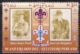 2002 - SCAUT - Nuovo Con Gomma Intergra - Perù