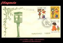 AMERICA. COLOMBIA SPD-FDC. 1969 NAVIDADES - Colombie