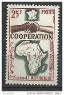 "Mauritanie YT 183 "" Coopération "" 1964 Neuf** - Mauritanie (1960-...)"