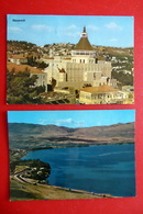 2 X Israel - Nazareth Galiläa Verkündigungsbasilika -  Lake Of Galilee Towards Ginosar - Lieux Saints