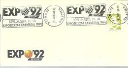 POSTMARKET  PALMA DE MALLORCA - 1992 – Sevilla (España)