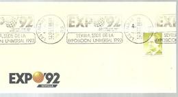 POSTMARKET  LAS PALMAS - 1992 – Sevilla (España)