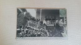 B4/ALPHONSE XIII À PARIS  (4JUIN 1905)-course D'auteuil- Réception à La Tribune Officielle - France