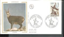FDC 1979  ANDORRE   L ISARD - Oblitérés