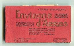 CPA 62 : Carnet Complet De 24 Cartes  Environs Arras Dont Carency, Ablain, Maroeuil, Neuville  A   VOIR !!!! - Arras