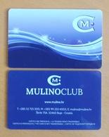 Casino Mulino Lux Casino Hotel Croatia Casino Card - Casino Cards