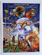 NIGER REPUBLIC Issued: July 24, 2001.Space History, - Space
