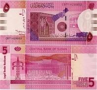 SUDAN       5 Sudanese Pounds      P-66a      9.7.2006      UNC - Sudan