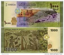 SYRIA       1000 S. Pounds       P-116       2013 / AH1435         UNC - Syria