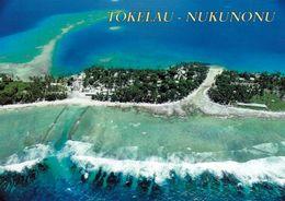 1 AK Tokelau Islands * Blick Auf Die Insel Nukunonu - New Zealand Territory - South Pacific Ocean * - Nouvelle-Zélande