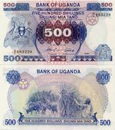 UGANDA       500 Shilingi       P-25       1986      UNC - Uganda