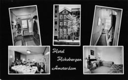 "07813 ""HOTEL HOKSBERGEN - AMSTERDAM"" CART. ORIG. NON SPED. - Amsterdam"
