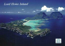 1 AK Lord Howe Island Australia * Blick Auf Die Insel Lord Howe Island - Seit 1982 UNESCO Weltnaturerbe * - Australie