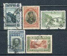 Bulgarien Nr.48/9       O  Used + *  Unused               (355) - 1879-08 Fürstentum