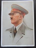 Postkarte Propaganda III. Reich Hitler - Deutschland
