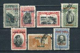 Bulgarien Nr.93/9       O  Used               (360) - 1909-45 Königreich