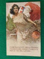 ITALIA  Sottoscrivete Prestito Nazionale 5 - War 1914-18