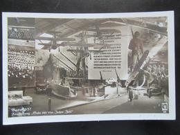 """Postkarte Propaganda III. Reich Ausstellung Berlin 1937 """"Gebt Mir 4 Jahre Zeit"""" Wehrmacht - Deutschland"""